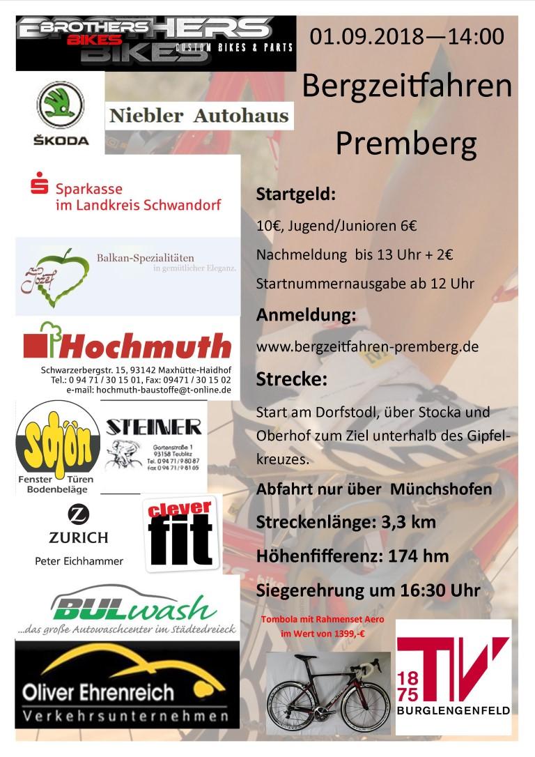 Radsportabteilung des TV 1875 Burglengenfeld - Radsportabteilung des ...